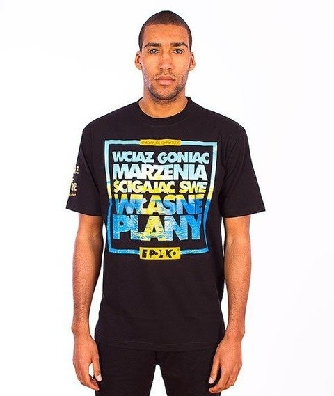 El Polako-Plany T-Shirt Czarny