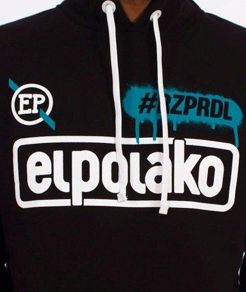 El Polako-#RZPRDL Hoody Bluza Kaptur Czarna