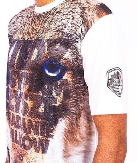 El Polako-Wilk T-Shirt Biały/Multikolor
