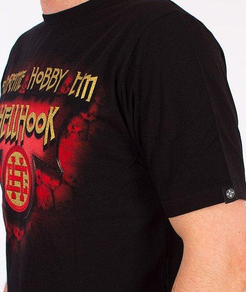 Extreme Hobby-Hell Hook T-shirt Czarny