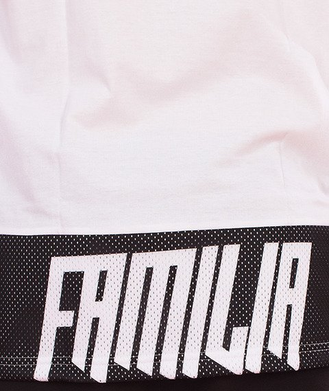 Familia Wear-Granat Dym T-Shirt Biały