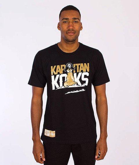 Gang Albanii-Kapitan Koks T-Shirt Czarny