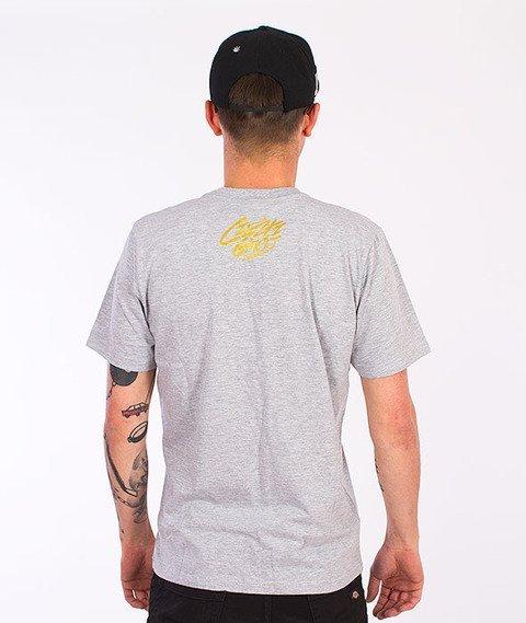 Gang Albanii-Lil Kogz T-Shirt Szary