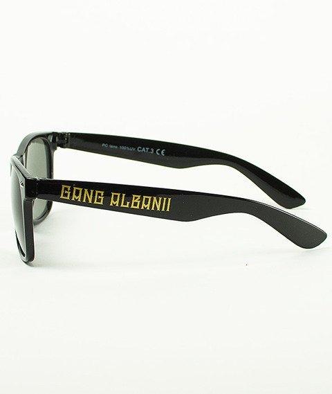 Gang Albanii-Logo 2 Okulary Czarne