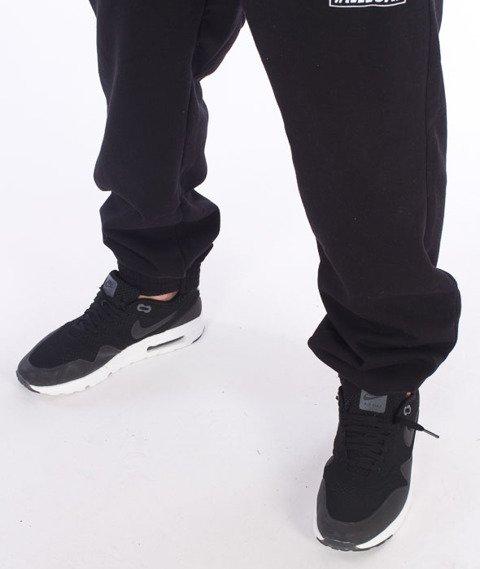 Illegal-Big Spodnie Dresowe Czarne