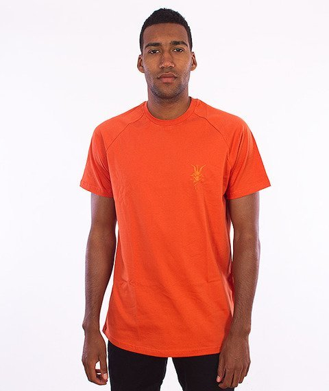 Intruz-Praise T-Shirt Pomarańczowy