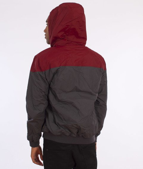 Iriedaily-Insulaner Jacket Kurtka Anthra Red