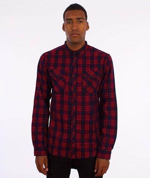 Iriedaily-Old Fella Shirt Koszula Dark Red