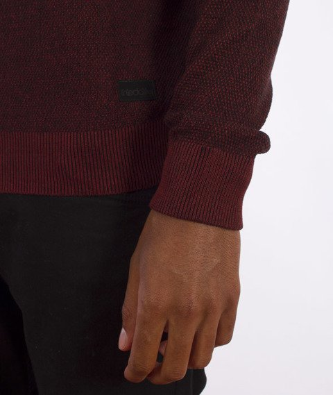 Iriedaily-Seed Degrade Knit Sweter Anthra Red