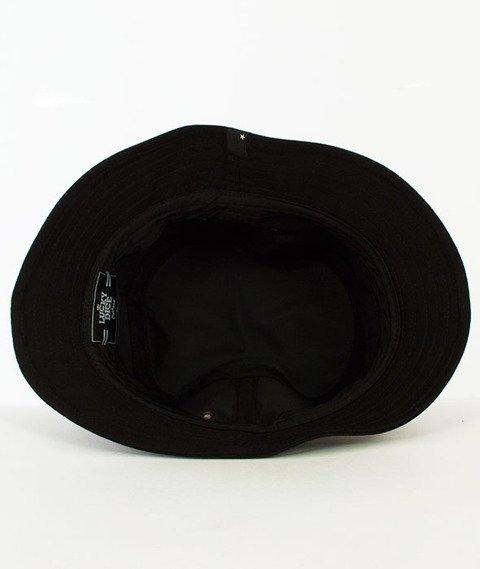 Lucky Dice-Laurel Bucket Hat Czarny