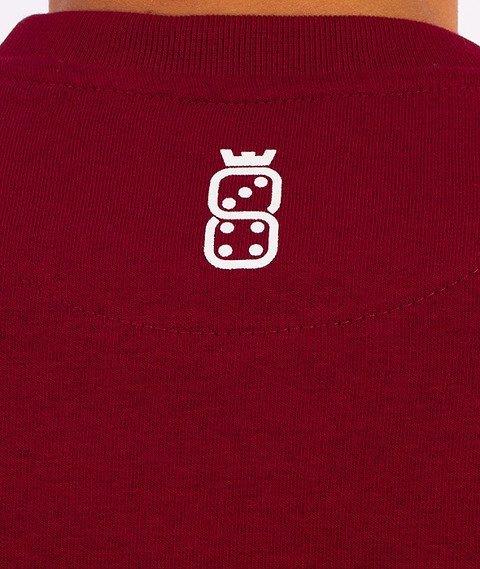 Lucky Dice-New Cut Bluza Granatowa/Bordowa