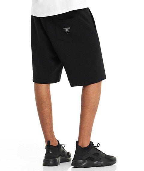 Lucky Dice-SHT Slant Krótkie Spodnie Czarne