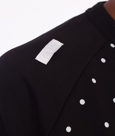 LuxxAll-Basic Dots Bluza Czarna