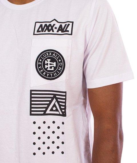 LuxxAll-Pocket T-Shirt Biały