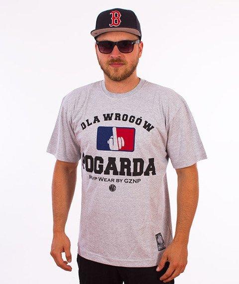 MVP Wear-Pogarda T-shirt Szary