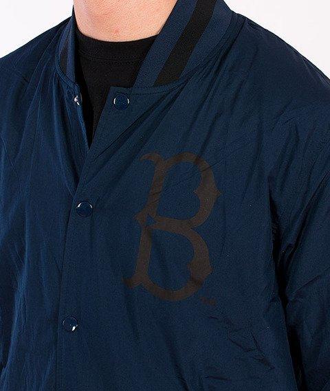 Majestic-Brooklyn Dodgers Coach Jacket Navy