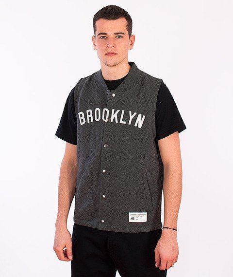 Majestic-Brooklyn Dodgers Vest Dark Grey