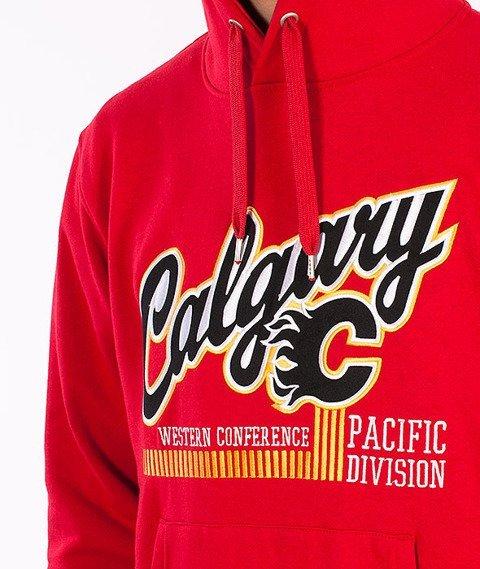 Majestic-Calgary Flames Hoodie Red