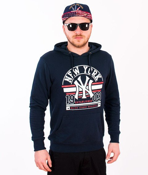 Majestic-New York Yankees Hoodie Navy