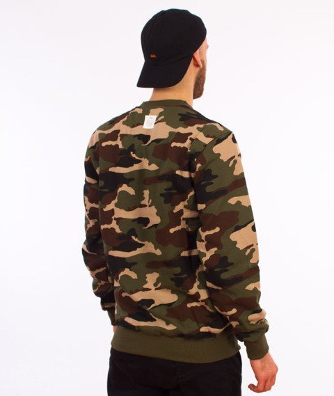 Mass-Base Bluza Woodland Camo