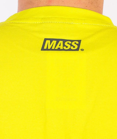 Mass-Horizon T-Shirt Neon/Szary