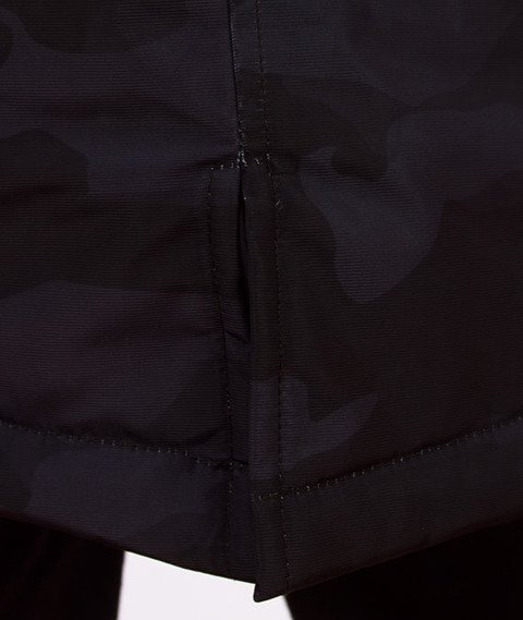 Mass-Plate Kurtka Zimowa Black Camo