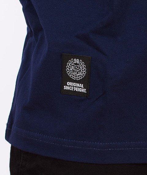 Mass-Pocket Base T-Shirt Czerwony/Granatowy