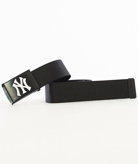 MasterDis-MLB Woven Premium New York Yankees Pasek Czarny/Biały