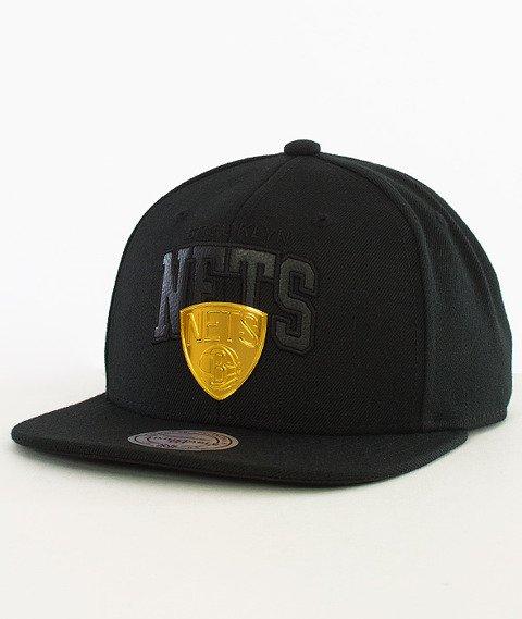 Mitchell & Ness-Brooklyn Nets Snapback EU942 Black/Gold