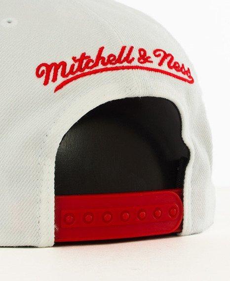 Mitchell & Ness-Chicago Bulls Snapback EU956 White/Red
