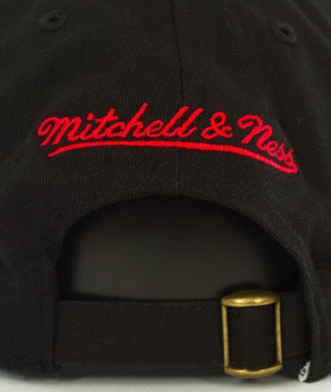 Mitchell & Ness-Philadelphia 76ers Team Logo Low Pro Snapback Czarny