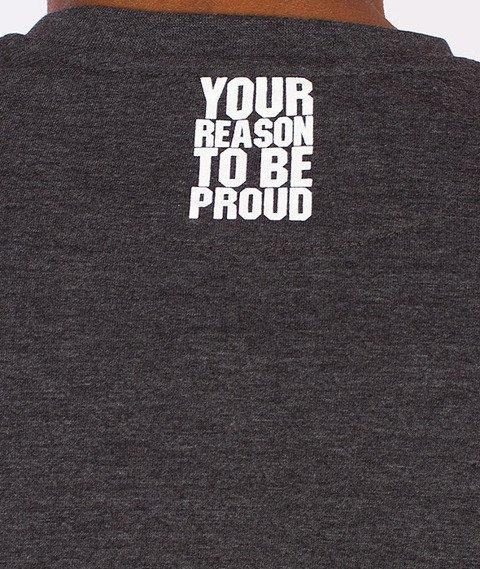 Moro Sport-Black Puma T-Shirt Grafitowy