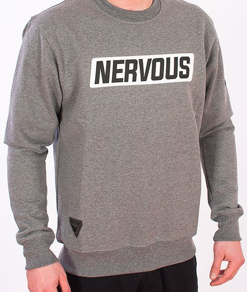 Nervous-Back To Crewneck Grey