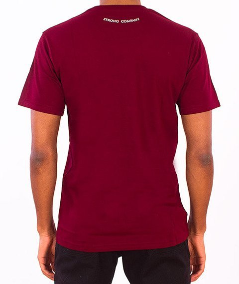 Nervous-Open T-Shirt Maroon