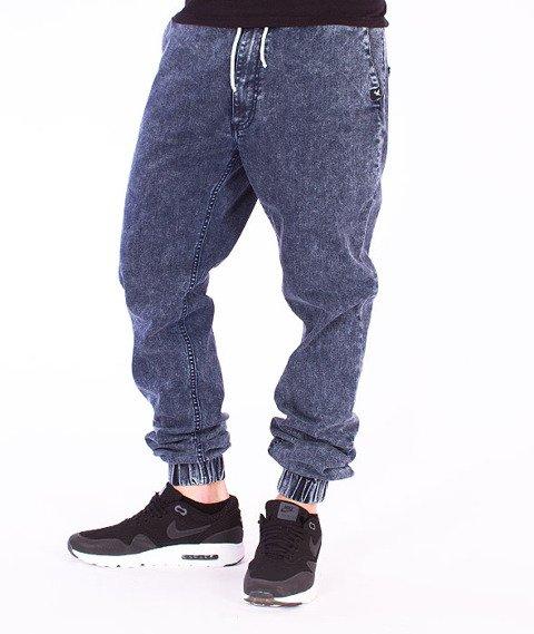 Nervous -Spodnie Jogger Jeans Blue/Marble