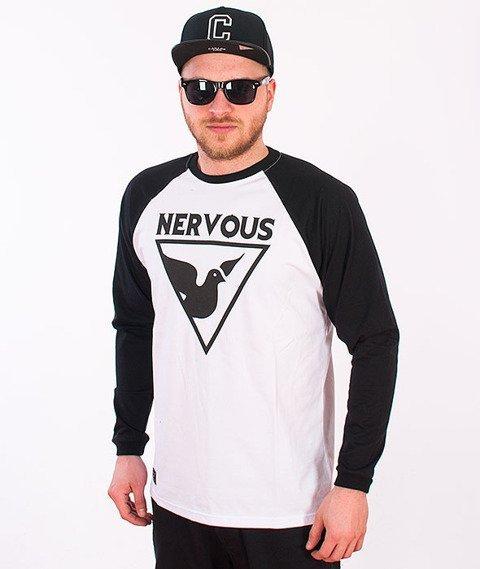 Nervous-Tri Longsleeve White/Black