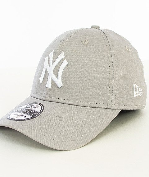 New Era-Basic New York Yankees Czapka z Daszkiem Szara