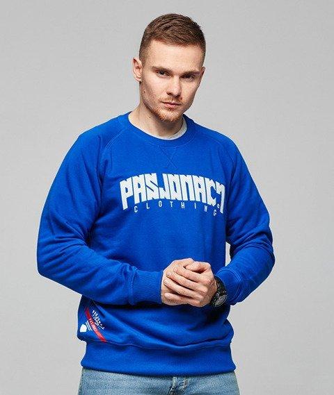 Pasjonaci-Blue Raglan Bluza Niebieska