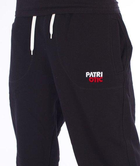 Patriotic-CLS Spodnie Dresowe Czarne/Czerwone