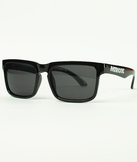 Patriotic-Futura Slim Okulary Czarne