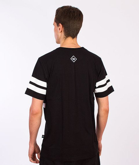 Patriotic-Particles T-Shirt Czarny