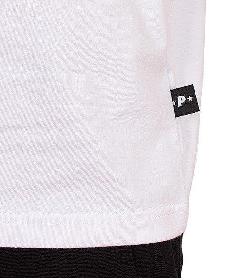 Patriotic-Tag Pion T-Shirt Biały/Czerwony