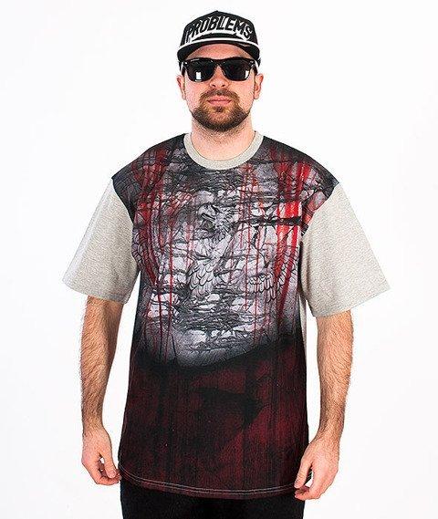 Pihszou-Śmierć T-shirt Szary/Multikolor + CD