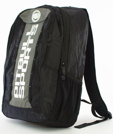 Pit Bull West Coast-Basic Backpack Plecak Czarny/Szary