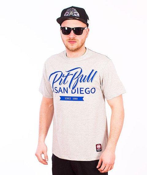 Pit Bull West Coast-El Jefe 2 T-Shirt Grey Melange