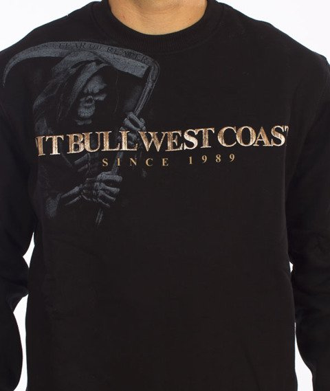 Pit Bull West Coast-Grim Reaper Crewneck Black