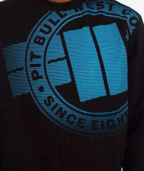 Pit Bull West Coast-Raster Logo Crewneck Bluza Czarna