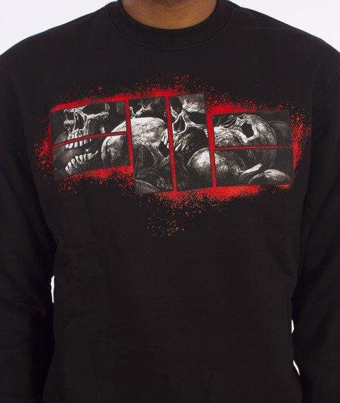 Pit Bull West Coast-Skull Logo Sweatshirt Crewneck Black