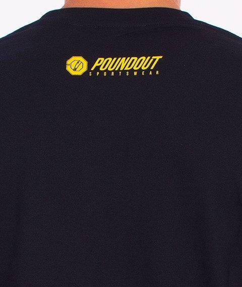 Poundout-Athletic T-Shirt Granatowy