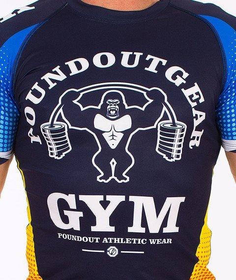 Poundout-Gorilla Rashguard Granatowy